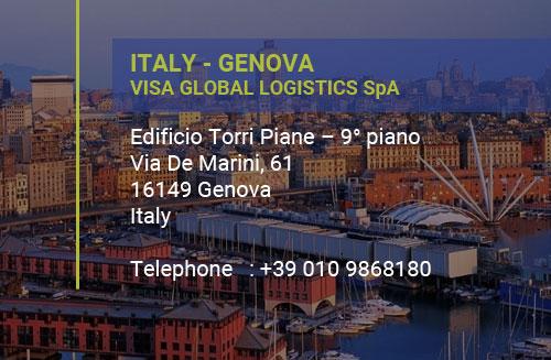 ITALY-Genova